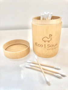 Bamboo buds and holder