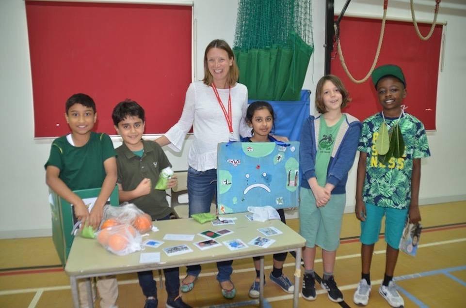 Doha English Speaking School eco event