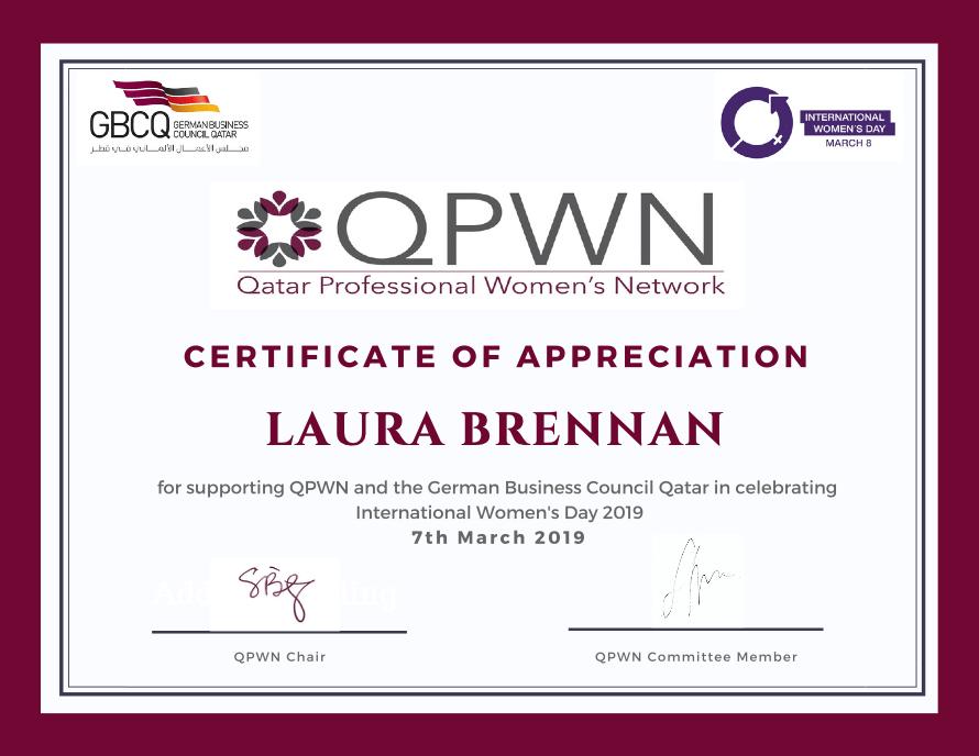 QPWN Talk for International Women's Day