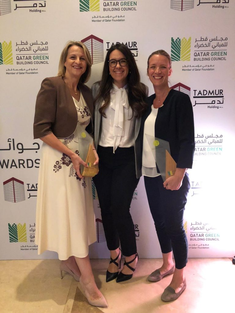 EcoSouk wins QGBC award for Best Sustainable Event, Fashion Swap with Roots!