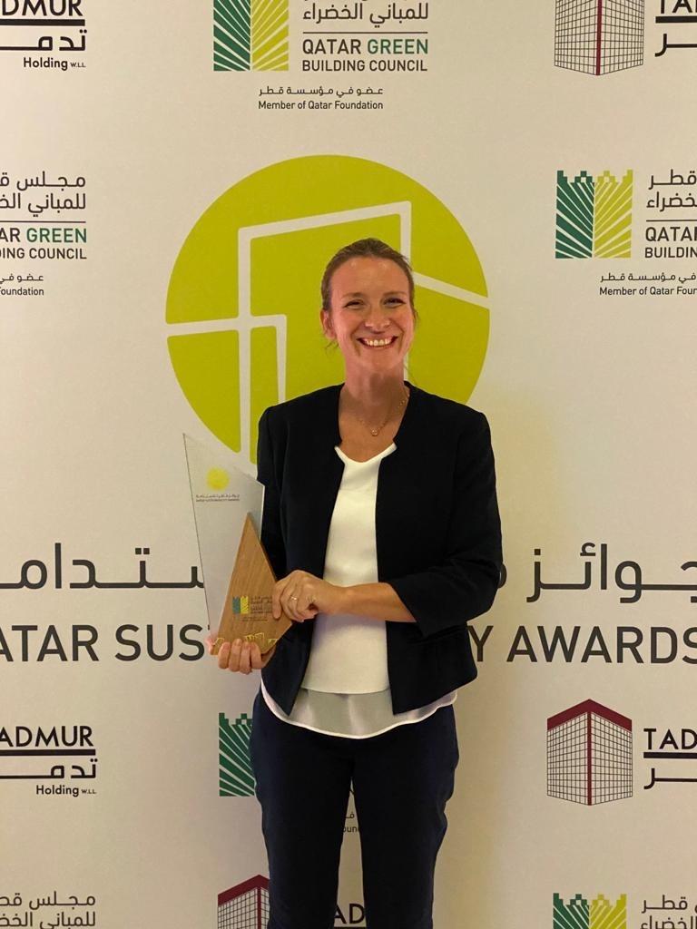 EcoSouk wins QGBC award for best SME Sustainability Initiative!