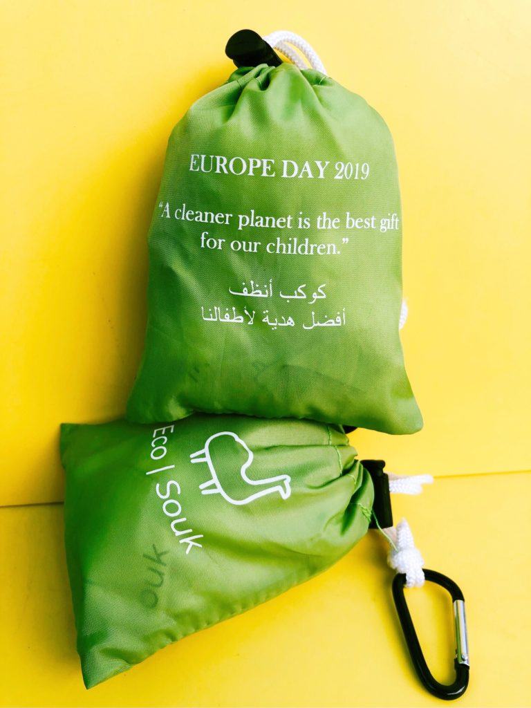 Custom-designed bags for Qatar Spanish Business Council