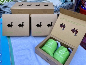 Collaboration with Qatar company Papercut designing EcoSouk boxes