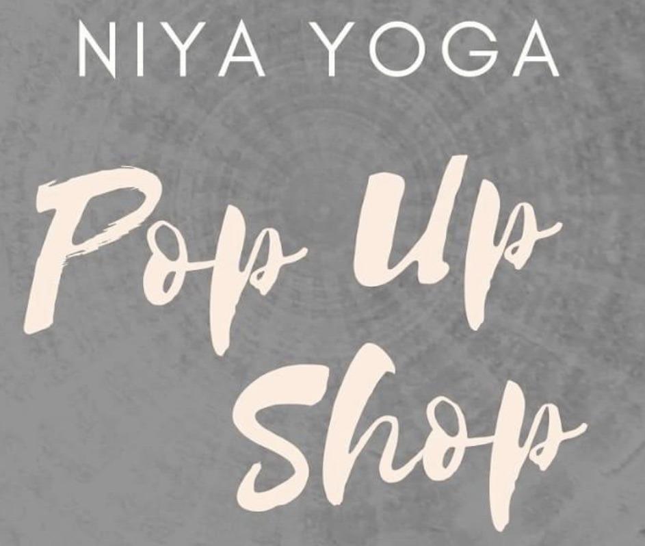 Pop Up at Niya Yoga