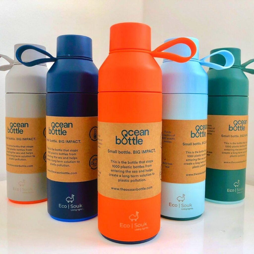 Co-branding with Ocean Bottle