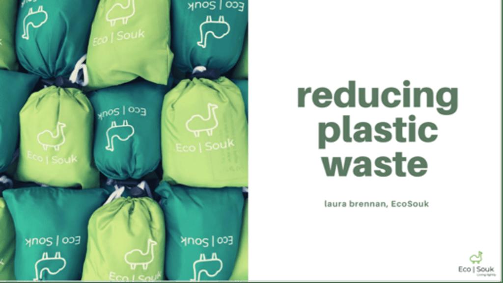 Stenton University online talk to professors on Reducing Plastic Waste